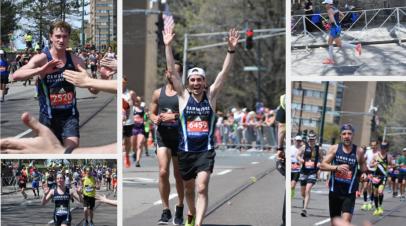 CRC Runs the Boston Marathon!
